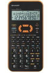Sharp Tehnični kalkulator EL-531XHYRC, oranžen