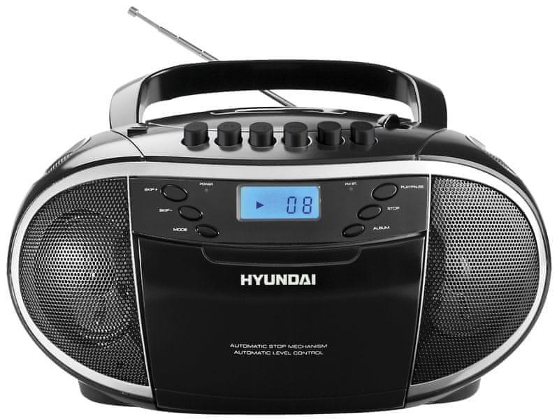 Hyundai TRC 851 AU3 (Black/Silver)