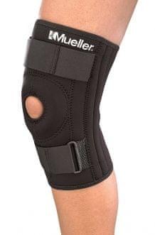 Mueller kolenska opornica, stabilizator pogačice (2313), črna, L