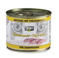 Grau Mokra hrana za mačke Grau, perutnina in riž, 6 x 200 g