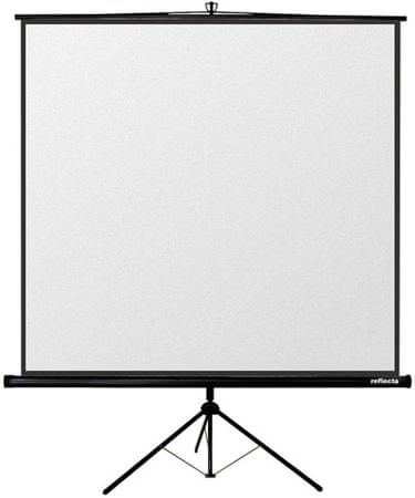 Reflecta Projekcijsko platno Crystalline Tripod 240 x 240 cm (87653)