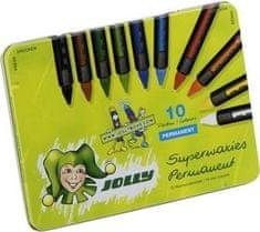 Jolly Voščenke Superwaxies Classic 10/1, kovinska embalaža
