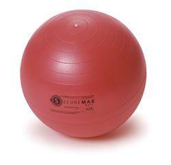 Sissel Žoga za vaje ravnotežja Securemax Exercice Ball, premer 65 cm Rdeča