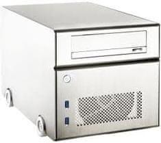 Lian Li ohišje PC-Q15A Mini-ITX Cube, srebrn