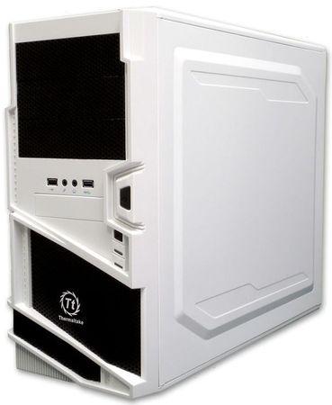 Thermaltake ohišje Commander MS-I Snow Edition Midi-Tower, brez napajalnika, belo-črno