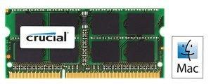 Crucial Pomnilnik (RAM) za prenosnik CT8G3S1339MCEU DDR3 (SO-DIMM) 1x 8GB 1333MHz