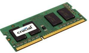 Crucial memorija (RAM) za prijenosno računalo DDR3 SO-DIMM 2 GB 1600 MHz (CT25664BF160B)