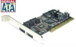 ST Lab Krmilnik PCI 4x + 2x SATA RAID