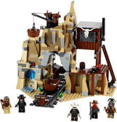 Lego The Lone Ranger 79110 Obračun pri rudniku srebra