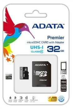 Adata microSDHC 32GB Premier UHS-I