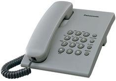 Panasonic KX-TS500FXH žični telefon, siv