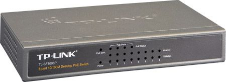 TP-Link Switch TP-Link TL-SF1008P 8-portni