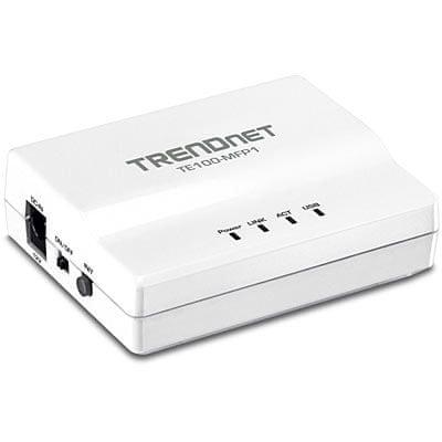 TrendNet Tiskalniški strežnik TRENDnet TE100-MFP1
