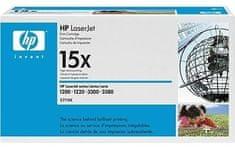HP toner LaserJet 15X, črn, 3500 strani