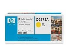 HP toner LaserJet Q2672A Yellow, 4000 stranica