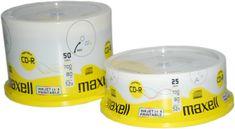 Maxell CD-R medij 700MB 52x Printable 25 na osi