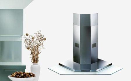 Faber kotna kuhinjska napa Premio Angolo 100x100, inox