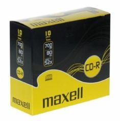 Maxell CD-R medij 700MB XL 52x, 10 kosov