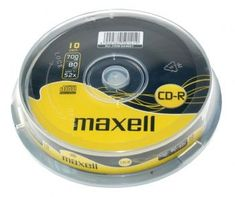 Maxell CD-R medij 700MB XL 52x, 10 na osi