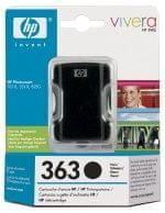 HP Kartuša C8719EE črna 17 ml #363