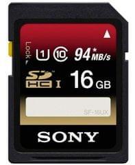 Sony Secure digital (SDHC) kartica SF-16UX 16 GB (Class 10)