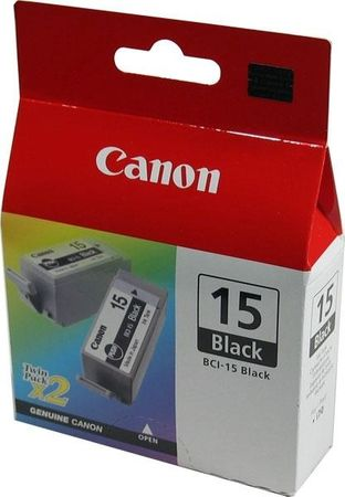 Canon tinta BCI-15 Bk, crna