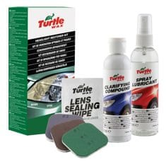 Turtle Wax set za obnovo žarometov Headlight Restorer
