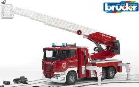 BRUDER Scania wóz strażacki