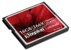 Kingston Compact Flash kartica 16GB Ultimate 266x (CF/16GB-U2)