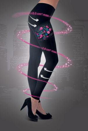 Lanaform Hlače za hujšanje in oblikovanje postave z mikrokapsulam Cosmetex Legging Črna S