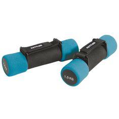 Kettler Ročki za aerobiko 2 x 1 kg, črna-modra