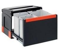 Franke sistem za ločevanje odpadkov Cube 50, ročni, 2 delni