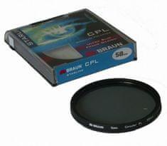 Braun Phototechnik Filter polarizacijski Braun Starline 14241, 55 mm