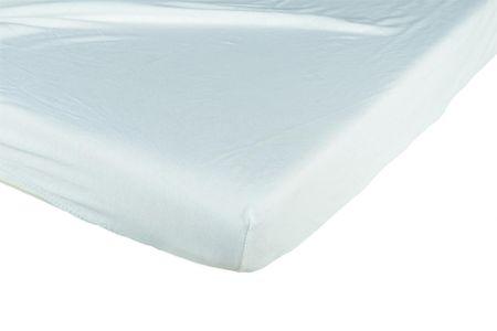 Candide Prześcieradło bawełniane 70x140cm, białe