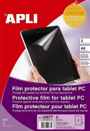 Apli zaščitna folija za tablični računalnik