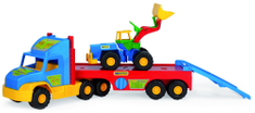 Wader Super Truck Platós teherautó