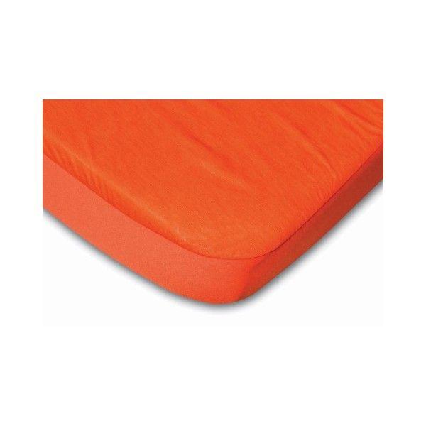 B-sensible Prostěradlo a chránič tencel 70 x 140 cm, oranžová