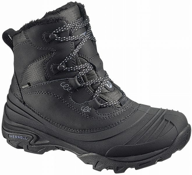 Merrell Snowbound Mid Waterproof W black 38,0