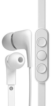 JAYS słuchawki a-JAYS Five iOS, biały