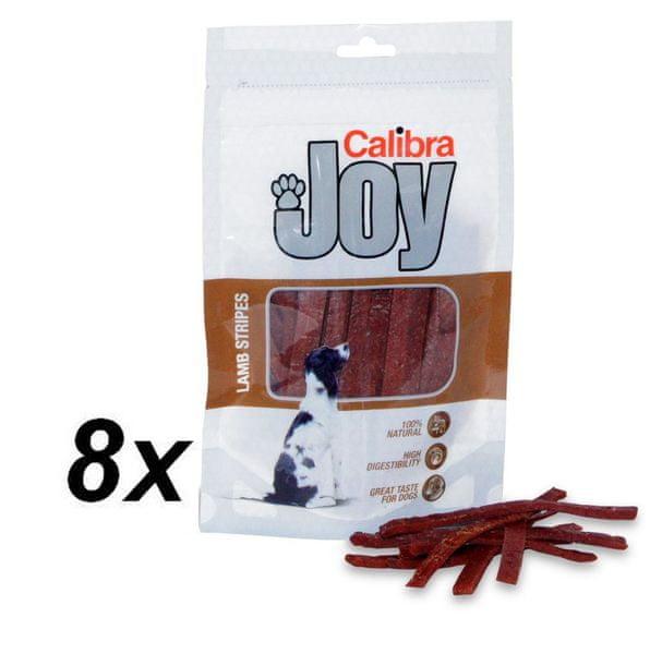 Calibra Joy Dog Lamb Stripes 8 x 80g