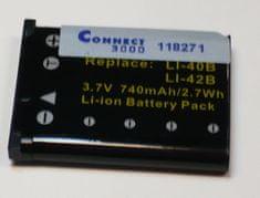 Connect Baterija CONNECT LI-40B, LI-42B - Odprta embalaža