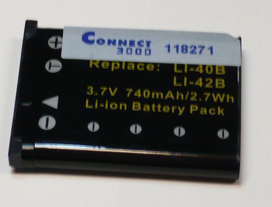 Connect Baterija CONNECT LI-40B, LI-42B