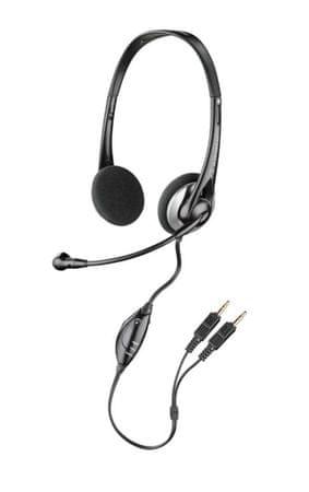 Plantronics słuchawki z mikrofonem Audio 326 Headset, czarne