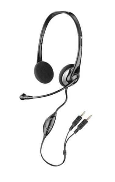 Plantronics Sluchátka s mikrofonem Audio 326, černá (80933-15)