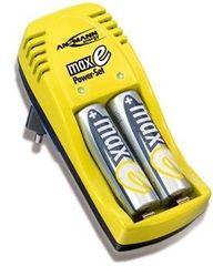 Ansmann Polnilec baterij maxE Power Set (2 x 2100mAh)