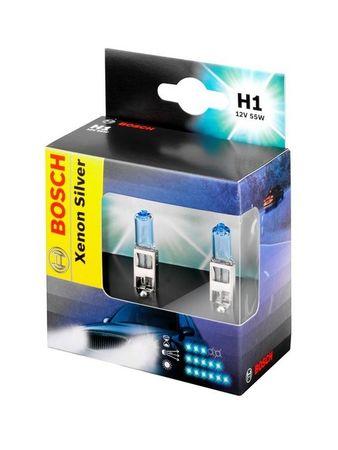 Bosch avtomobilska žarnica H1 Xenon Silver, par