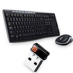 Logitech Wireless Desktop MK270 ENG (920-004508)