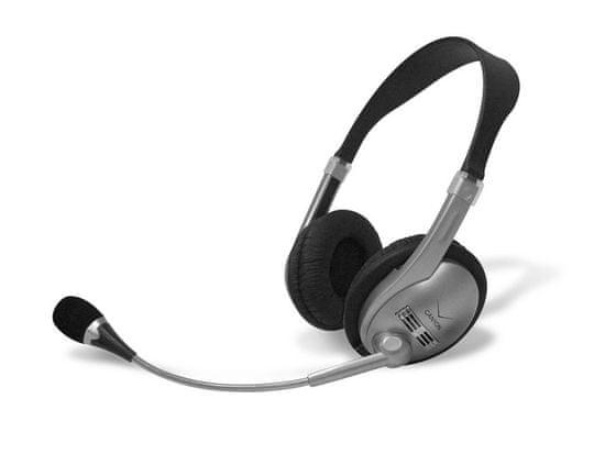 Canyon slušalke CNR-HS01N, črno-sive