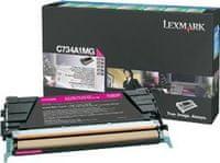 Lexmark Toner C734A1MG Magenta 6000 ispisa