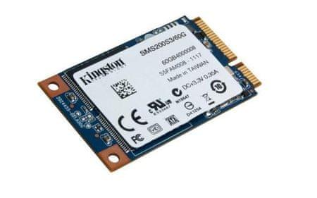 Kingston 1,8 SSD disk mS200 120 GB, SATA III (SMS200S3/120G)